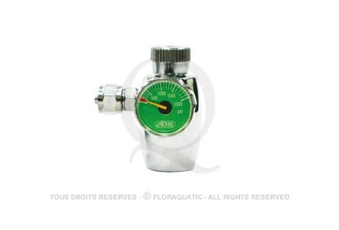 Ista - Régulateur de CO2 avec manomètre