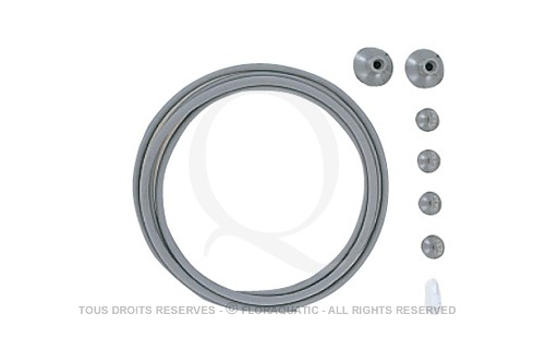 ADA Co2 systeme grey part set system