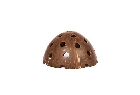 Abris à crevettes noix de coco surface lisse