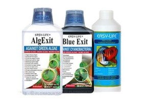 Pack Easy Life 250ml : AlgExit + Blue Exit + Filtre liquide
