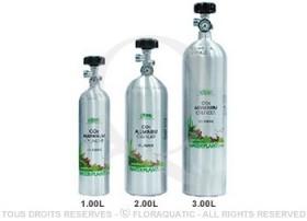 Remplissage bouteille rechargeable CO2 avec manomètres