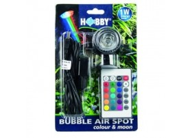Spot submersible à led multi-couleur 1w BUBBLE AIR COLOUR & MOON