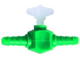 HOBBY Robinet plast 4-6mm  blister 2p
