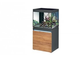 Aquarium INCPIRIA 230 combi GRAPHIT/NATURE 2 x power LED+
