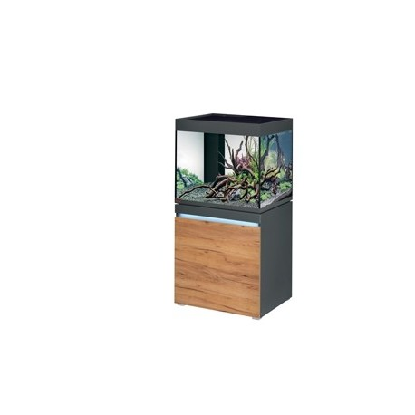Aquarium INCPIRIA 230 combi GRAPHIT/NATURE 2 x power LED+