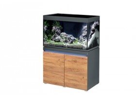 Aquarium + meuble INCPIRIA 330 - Graphit/nature 330L