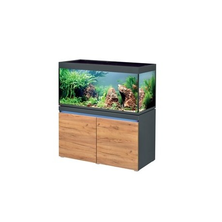Aquarium INCPIRIA 430 combi GRAPHIT/NATURE 2 x power LED+