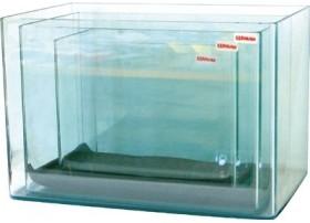 Cuve nue + couvercle -  Aquarium de 12 litres