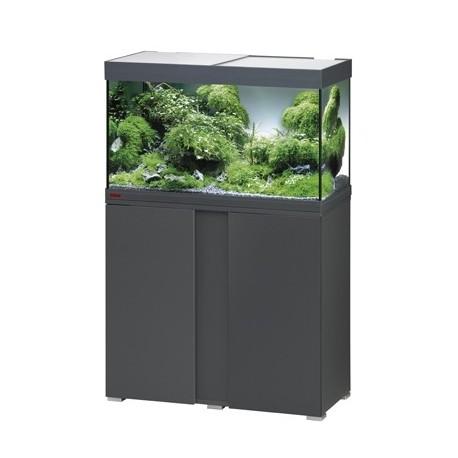 Aquarium VIVALINE LED 126 COMBI anthracite 13w + biopower 160 + ch.100w