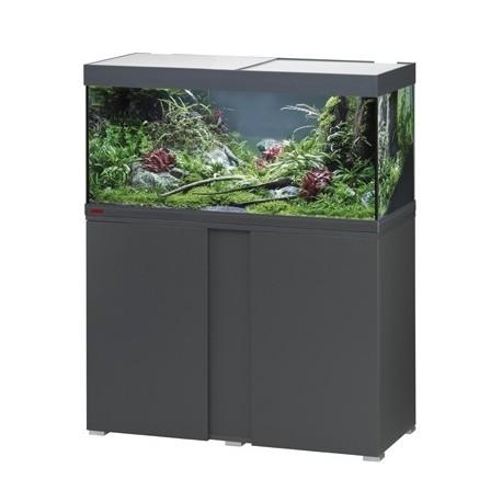 Aquarium VIVALINE LED 180 COMBI anthracite 17w + biopower 200 + ch.150w