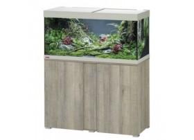 Aquarium VIVALINE LED 180 COMBI chene gris 17w + biopower 200 + ch.150w