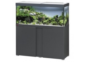 Aquarium + meuble VIVALINE LED 240 - anthracite 240L