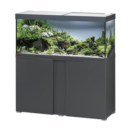Aquarium + meuble VIVALINE LED 240 - anthracite 240L