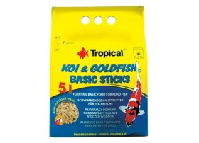 TROPICAL Koi & goldfish basic sticks 5l/400g