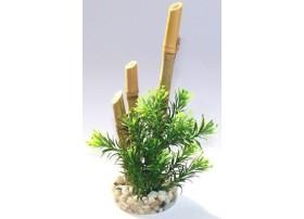 """Plante artificielle type """"Bambou"""" - plante plastique"""