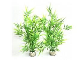 """Plante artificielle """"Bambou"""" - plante plastique"""