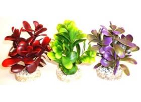 Plante plastique PEEBLE Hauteur : 14cm