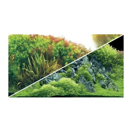 HOBBY Poster planted river / green roches 0.3x25m df