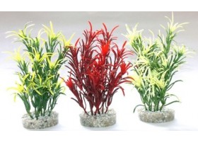 Plante plastique SEA GRASS MEDIUM Hauteur : 16cm