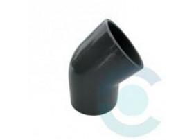 Coude PVC FF 45° 16mm