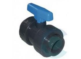 Robinet PVC à bille 40mm