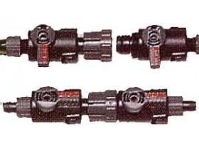 EHEIM Robinet double pour tuyau 19/27mm