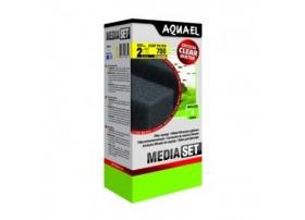 AQUAEL Mousse standard pour filtre asap 700 (2pc)