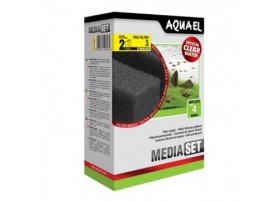 AQUAEL Mousse standard pr. filtre fan 3 (2pc)