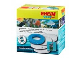 EHEIM Lot OUATE (4x) + Mousse (1x) pour filtre EHEIM ECCO PRO