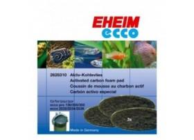 EHEIM Mousse de charbon actif pour filtre EHEIM 2032 / 2036- vendu par 3