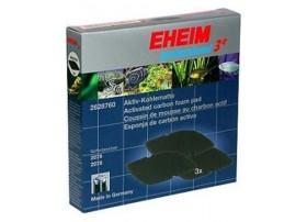 EHEIM Mousse de charbon actif pour filtre EHEIM 2076-2078 CHARBON - vendu par 3
