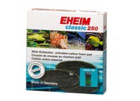 EHEIM Mousse charbonactif pour filtre EHEIM Classic 250 (EHEIM 2213) - vendu par 3