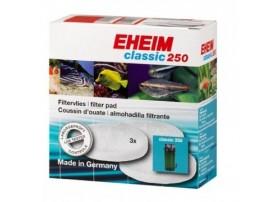 EHEIM Coussin de ouate blanche pour filtre EHEIM 250 (EHEIM 2013) - vendu par 3