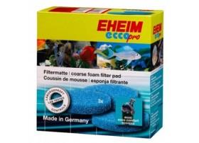 EHEIM Mousses de filtration bleues pour filtre d'aquarium Eheim Ecco Pro (2232/2234/2236) - vendu par 3