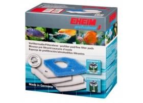 EHEIM mousse bleue + 4 ouates blanches pour filtre professionnel EHEIM 3 250 350 600
