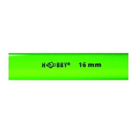 HOBBY Tube rigide vert 16mm extérieur 1m