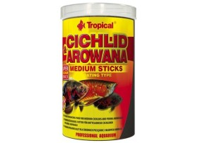 CICHLID & AROWANA MEDIUM STICKS 1000ml
