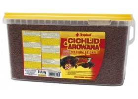 CICHLID & AROWANA MEDIUM STICKS 5L/1.8KG (sur commande)