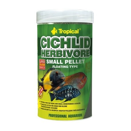 CICHLID HERBIVORE SMALL PELLET 250ml