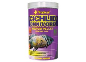 CICHLID OMNIVORE MEDIUM PELLET 500ml