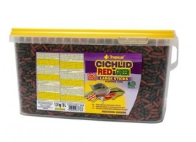 CICHLID Rouge & GREEN LARGE STICKS 5L/1.5KG