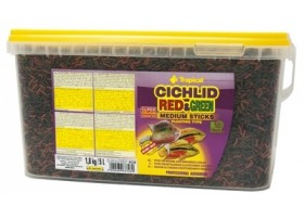 CICHLID Rouge & GREEN MEDIUM STICKS 5L/1.8KG