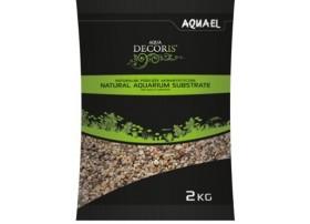 AQUAEL Gravier naturel multicolorouge 1.4-2mm 2kg