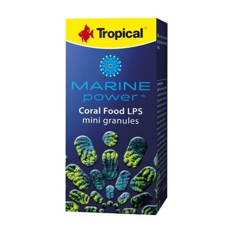 TROPICAL Marine power coral food lps mini granulés 100ml
