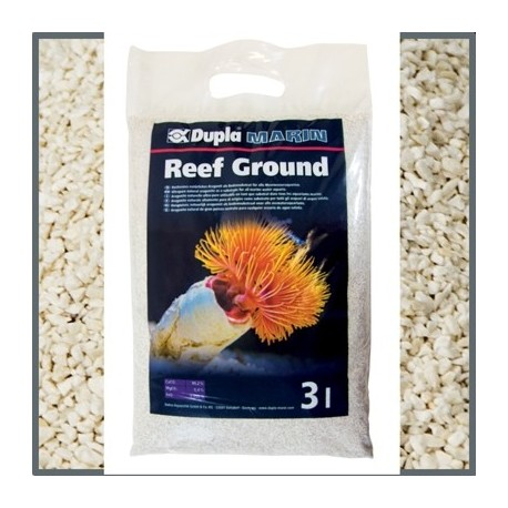 REEF GROUND aragonite naturelle 4Kg 0.5-1.2mm 3L