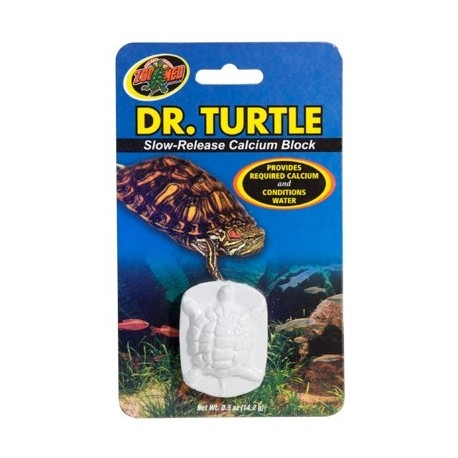 ZOOMED Dr. tortue bloc de calcium 14g