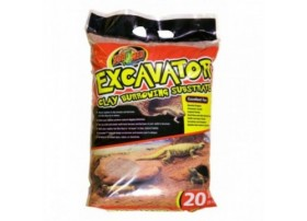 ZOOMED Excavator clay burrowing 9kg