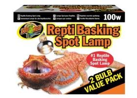 Lampe REPTI BASKING 100W Pack 2pcs