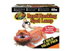 Lampe REPTI BASKING 40W Pack 2pcs ZM
