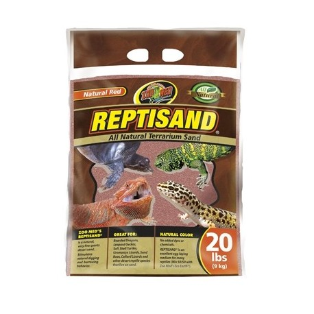 REPTI SAND 9Kg ROUGE